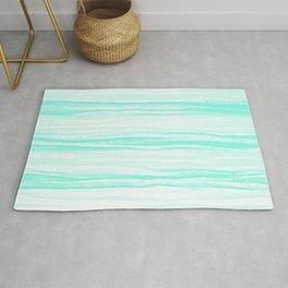 390 2 Crinkled Turquoise Rug