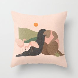 It Was All a Dream Throw Pillow