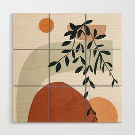 Soft Shapes I Wood Wall Art