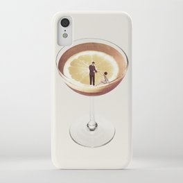 My drink needs a drink iPhone Case
