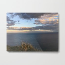 Beautiful day at Bald Hill Wollongong NSW Australia Metal Print