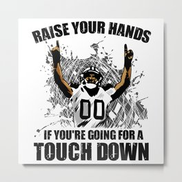 Raise your Hands Metal Print