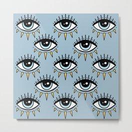 Eyes pattern Metal Print