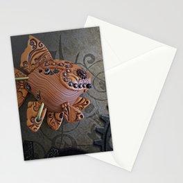Steampunk Goldfish Stationery Cards
