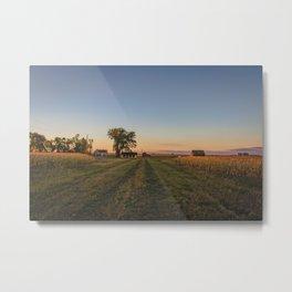 Curious Farmstead, North Dakota 2 Metal Print