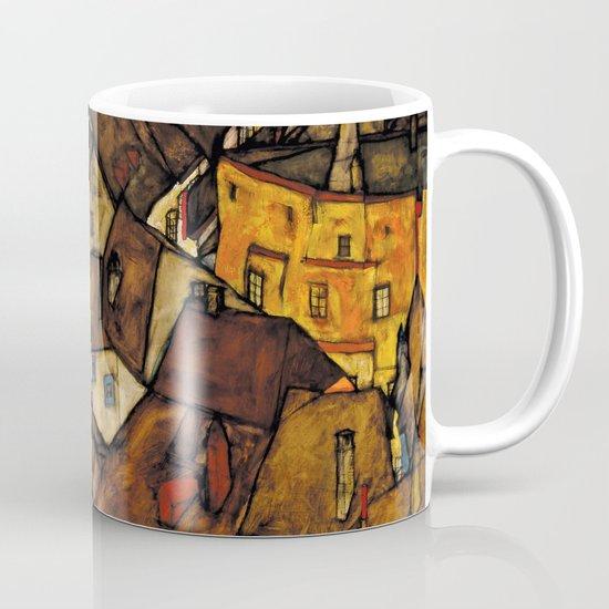 """Egon Schiele """"Krumau - Crescent of Houses (The small City V)"""" by alexandra_arts"""