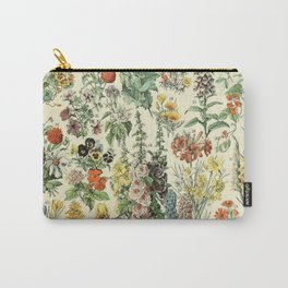 Adolphe Millot Vintage Fleurs Flower 1909 Carry-All Pouch