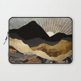 Copper and Gold Mountains Laptop Sleeve
