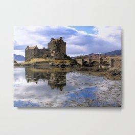 Eilean Donan Castle Scotland Metal Print