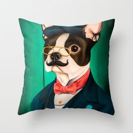 Gentledog Throw Pillow