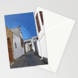 Roads of Rhodes Stationery Cards