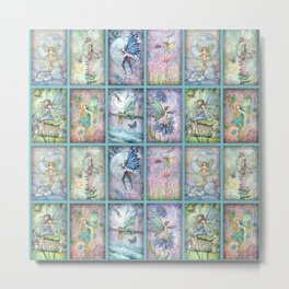 Many Fairies Molly Harrison Fantasy Art Metal Print