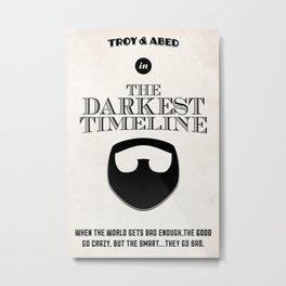 Community - The Darkest Timeline Metal Print