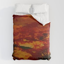 Confusing Colour Structures Comforters