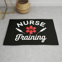 Funny Nursing Student Gift - Nurse in Training Rug