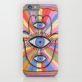Third Eye Humsa iPhone Case
