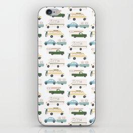 Vintage RV Motorhome Trailers Campers iPhone Skin