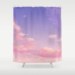 Sky Purple Aesthetic Lofi Shower Curtain