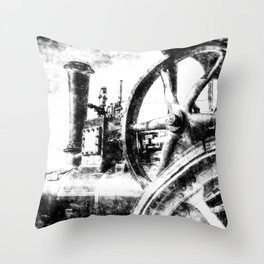 Clayton And Shuttleworth Vintage Throw Pillow