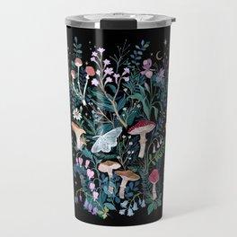 Night Mushrooms Travel Mug