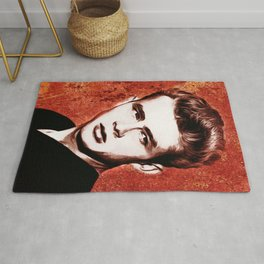 James Dean - Giant - Pop Art Rug