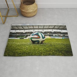 Soccer Ball Field Rug