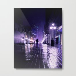 there is no more time Metal Print