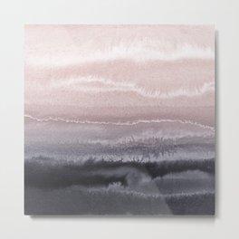 WITHIN THE TIDES BLACK SAND BEACH by Monika Strigel Metal Print