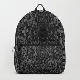Shades of grey glasslite brick Backpack