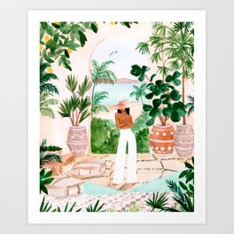 Peaceful Morocco II Art Print