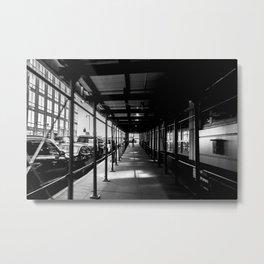 The Tunnel new york photography Metal Print