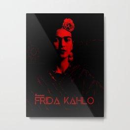 Frida Kahlo (Ver 6.1) Metal Print
