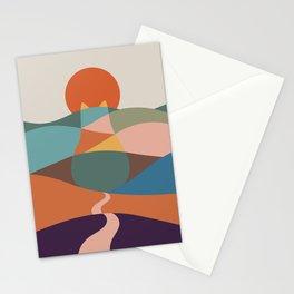 Cat Landscape 65 Stationery Cards