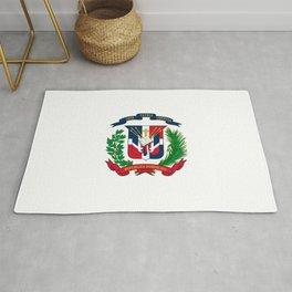 seal of the dominican republic-dominican,hispaniola,dominicana,antilles,caribean,santo domingo Rug