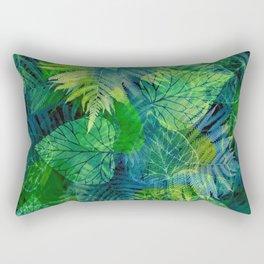 Forest Flora 8 Rectangular Pillow