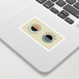 day eye night eye Sticker