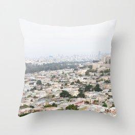 San Francisco Daydreams Throw Pillow