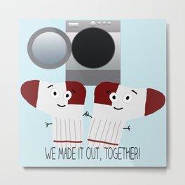 Togetherness Metal Print