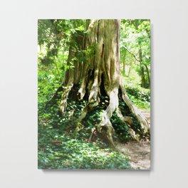 Ominous Tree Metal Print