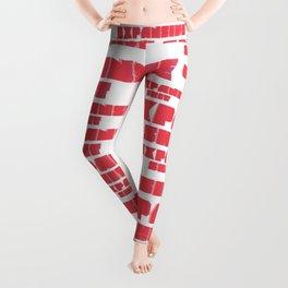 EXPANSIVE SHIT #the pop art edition Leggings
