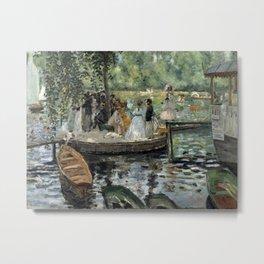 Pierre-Auguste Renoir - La Grenouillère Metal Print