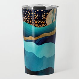 Indigo Desert Night Travel Mug