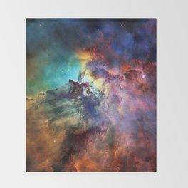 Lagoon Nebula Throw Blanket