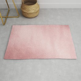 Simply Rose Gold Sunset Rug