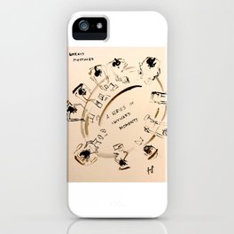 A series of awkward moments iPhone Case