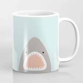 shark attack Kaffeebecher