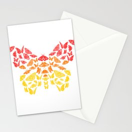 Butterfly Top For Butterfly Enthusiast And Lovers T-shirt Design Insects Science Animals Fly Flying Stationery Cards