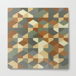 Abstract Geometric Artwork 51 Metal Print
