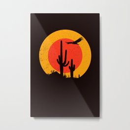 Death Valley (vulture song) Metal Print