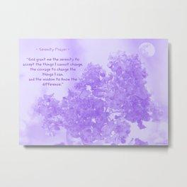 Serenity Prayer - V Metal Print
